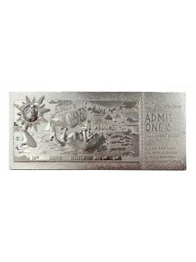 Jaws: Regatta Ticket (silver plated) - Replica