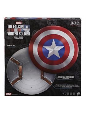 "Falcon and Winter Soldier: Schild ""Captain America"" - Marvel Legends Premium Action Toy"