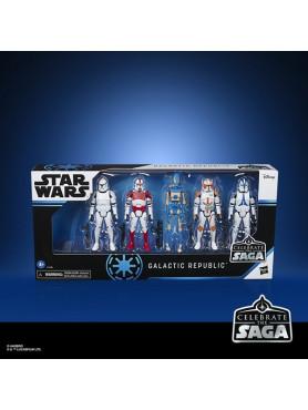 Star Wars: Galactic Republic - Celebrate the Saga Action Figures