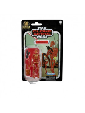 Star Wars: The Clone Wars - Battle Droid - Lucasfilm 50th Anniversary 2022 Wave 1 Vintage