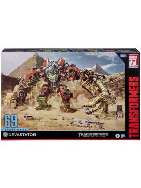 Transformers: Revenge of The Fallen - Devastator Constructicon - Studio Series 69 Action Figures