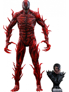 Venom: Let There Be Carnage - Carnage (Deluxe Version) - Movie Masterpiece Action Figure