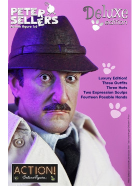 The Pink Panther: Inspector Jacques Clouseau - Deluxe Action Figure