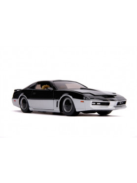 Knight Rider: 1982 Pontiac Trans Am (K.A.R.R.) with Light Up - Diecast 1/24 Model