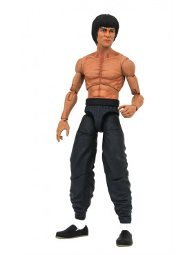 Martial-Arts: Bruce Lee (Shirtless) - Serie 2 Select Action Figure
