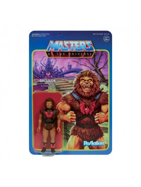 Masters of the Universe: Grizzlor - Wave 5 ReAction Action Figure