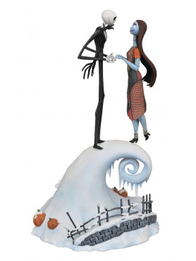 Nightmare Before Christmas: Jack & Sally - Milestones Statue