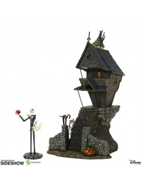 The Nightmare Before Christmas: Jack Skellington's House - Village Series Statue
