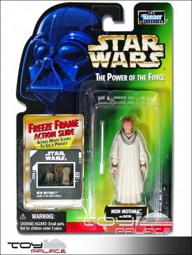 Star Wars: The Power Of Force 2 - Mon Mothma - Baton Freeze Frame Action Figure