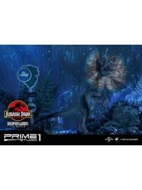 Jurassic Park: Dilophosaurus - Legacy Museum Collection Statue