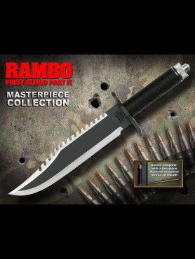 Rambo: First Blood Part II - Combat Knife - Standard Edition Masterpiece Collection