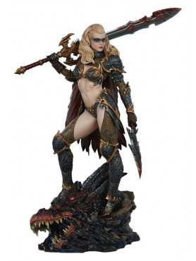 Dragon Slayer: Warrior Forged in Flame - Collector Edition Originals Statue