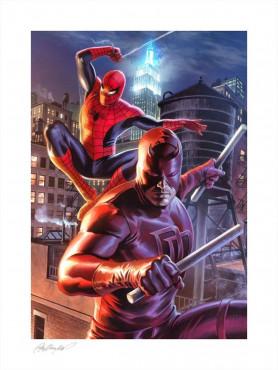 "Marvel: Art Print ""Daredevil & Spider-Man"" (unframed)"