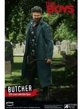 """The Boys: William """"Billy"""" Butcher (Deluxe Version) - My Favourite Movie Action Figure"""