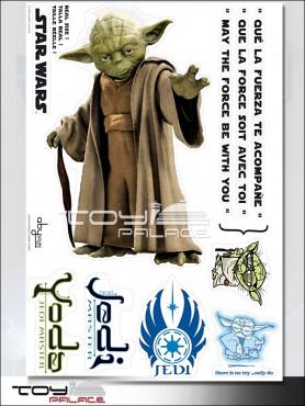 """Star Wars: Wall Tattoo / Sticker """"Yoda"""""""