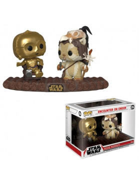 Star Wars: C-3PO on Throne - Funko Pop! Movie Moments Bobble-Head Figures