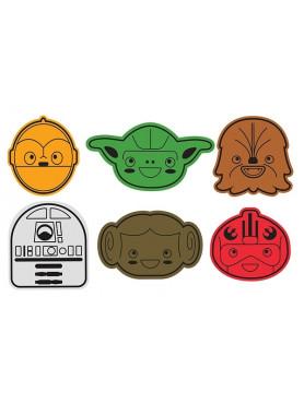 "Star Wars: Cookie Cutters ""Rebel Friends"""