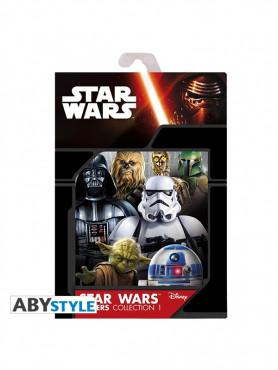 """Star Wars: Poster Set 1 """"Star Wars Saga"""""""