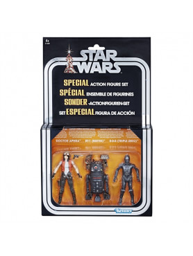 Star Wars: Doctor Aphra, BT-1 & 0-0-0 - 2018 Exclusive SDCC Special Comic Set Action Figures