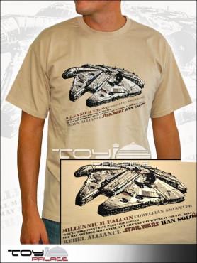 "Star Wars: T-Shirt ""Millennium Falcon"""