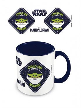 "Star Wars: The Mandalorian - Mug ""Child On Board"""