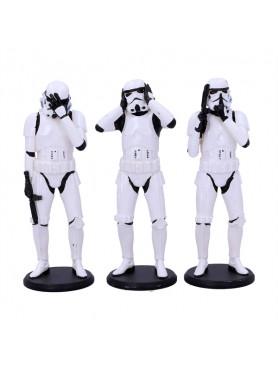 Star Wars: Three Wise Stormtrooper - Original Stormtrooper 3-Pack Figures