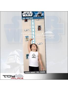 "Star Wars: Wall Decal ""Height Gauge"""