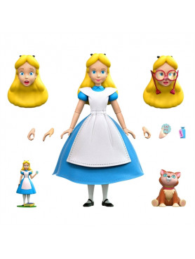Alice in Wonderland: Alice - Disney Wave 2 Ultimates Action Figure