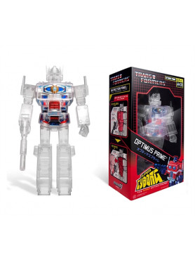 Transformers: Super Cyborg Optimus Prime (Clear) - Action Figure
