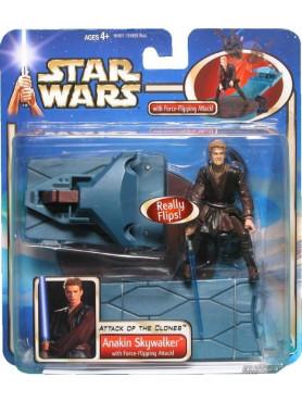 Star Wars: Episode II - Anakin Skywalker - Deluxe Flipping TRI-Logo Action Figure
