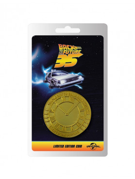 """Back to the Future: Collectable Coin """"35th Anniversary"""""""